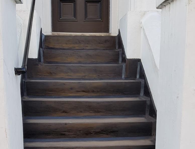 Waterproofing steps in london