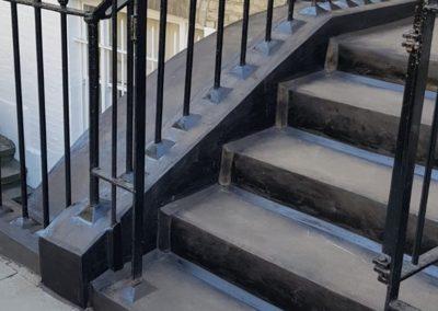 mastic asphalt waterproofing for steps