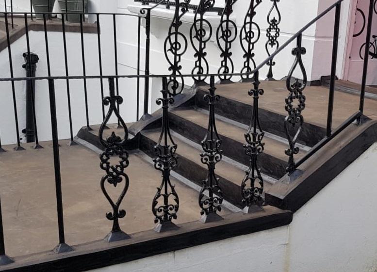 London steps asphalt and waterproofing