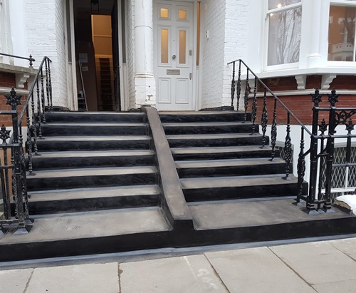 Waterproofing steps in London