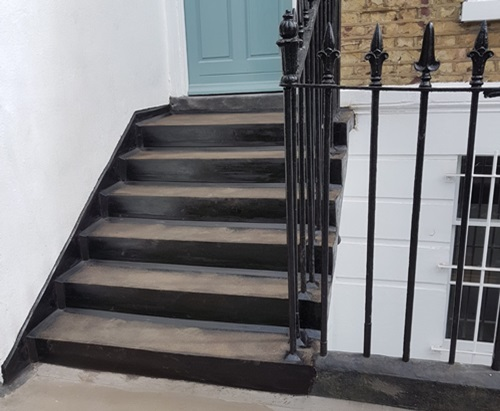 Mastic Asphalt for Waterproof Steps